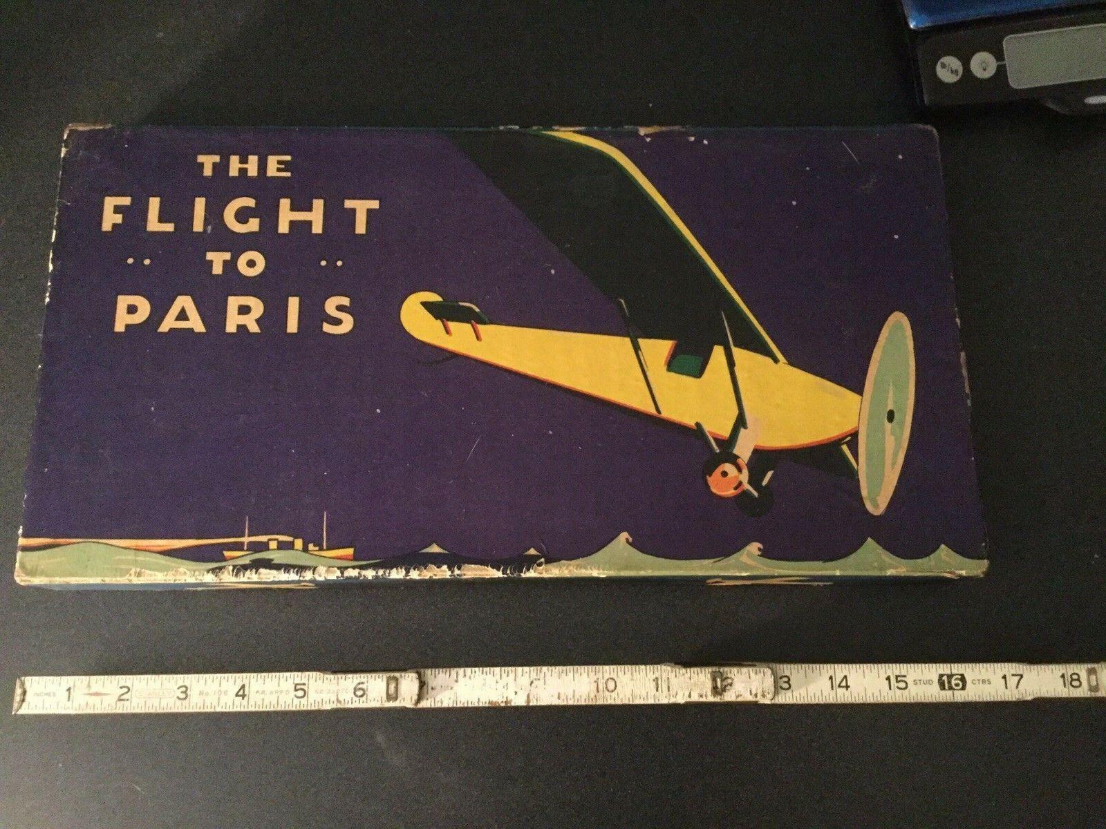 2 Juegos De Avión Antiguo vuelo a París avión Race 1927 Lindbergh Destreza