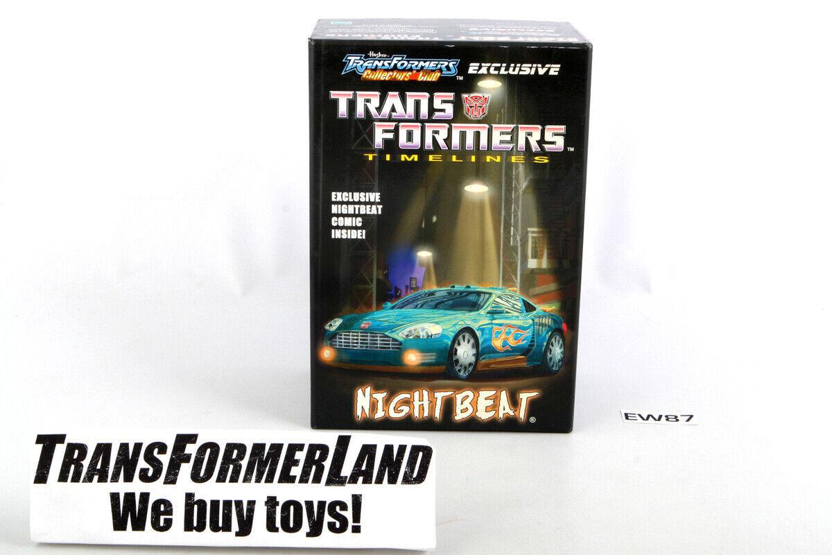Nightbeat TFCC Club w box Deluxe BotCon TFCC Transformers