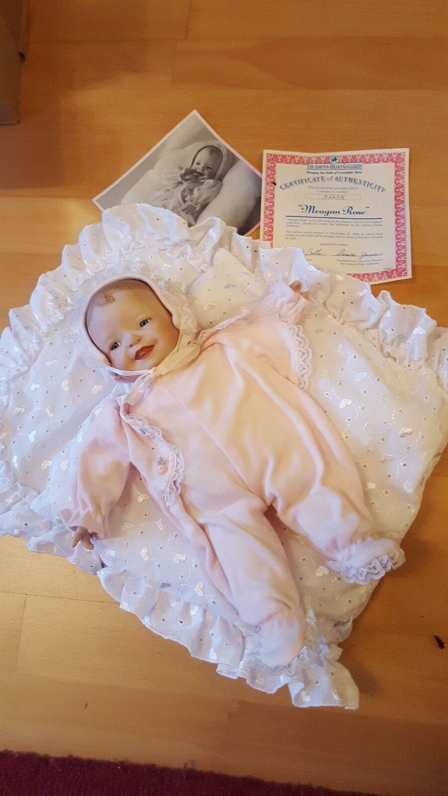 Puppe von Yolanda Bello Megan Rosa The Ashton Baby Baby Baby Topp neuwertig 0ac903