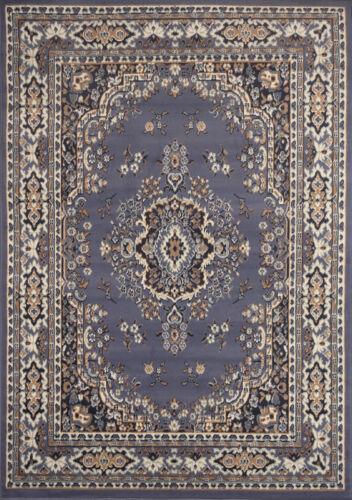 """PERSIAN BLUE AREA RUG 6 X 8 MEDIUM ORIENTAL CARPET 69 ACTUAL 5/' 2/""""  x  7/' 4/"""""""