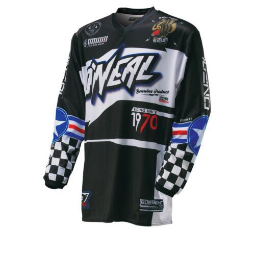 ONeal Element MX Jersey AFTERBURNER Shirt Moto Cross Enduro Mountainbike MTB