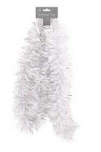 Chunky-White-Christmas-Tinsel-Decoration
