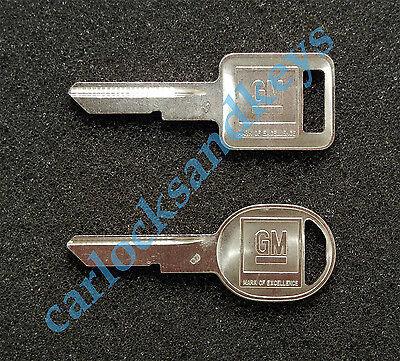 1979, 1983-1986 Chevrolet Pickup Truck Key blanks blank