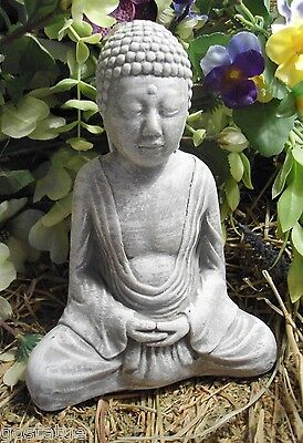 latex only sitting buddha concrete plaster garden mold mould