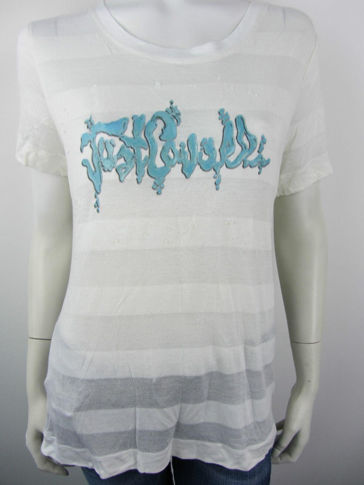 Just Cavalli Top Shirt T-Shirt Pailetten  XL UVP
