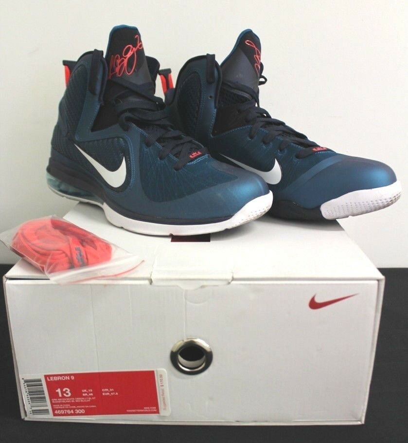 Nike Air Lebron IX 9 Swingman Sneakers Men's Size 13 Used Condition with Box