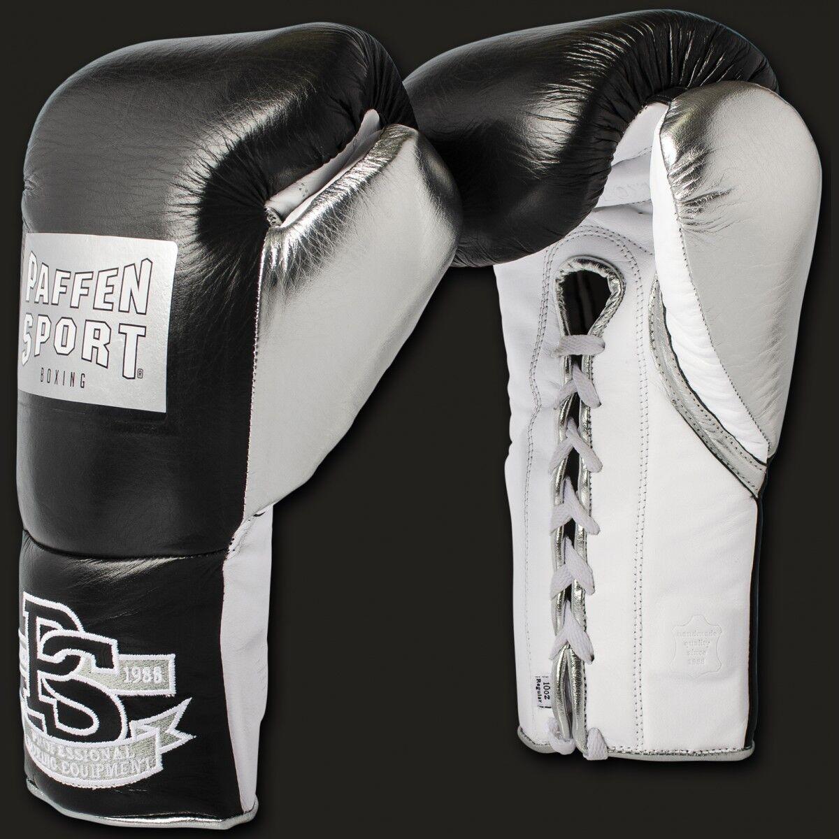 Pro Mexican Boxhandschuhe für den Wettkampf 10OZ XL, Leder, Boxen, Paffen Sport