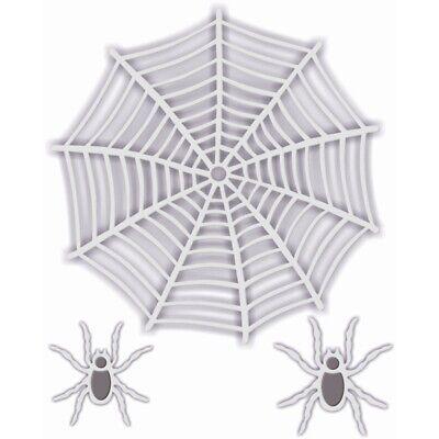 Nuevo dulce DIXIE METAL de corte muere Arañas Web Y Arañas Halloween
