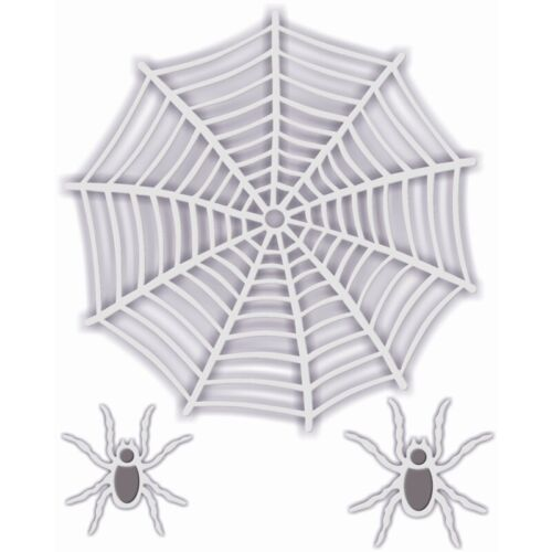 New Sweet Dixie  Metal Cutting Halloween Dies Spiders Web and Spiders