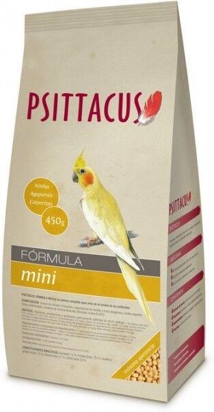 PSITTACUS MINI LGolds, Ninfas, Guacamayos, Yacos Comida Para Pajaros 12kg