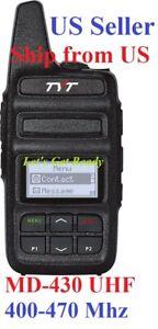 TYT-MD-430-UHF-400-470Mhz-2-Watts-DMR-Analog-compact-Two-Way-Radio-US-Seller
