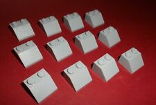 Lego 3039 in hellgrau aus 9468 10188 7775 6208 8781 12 Dachsteine 45° 2x2x1