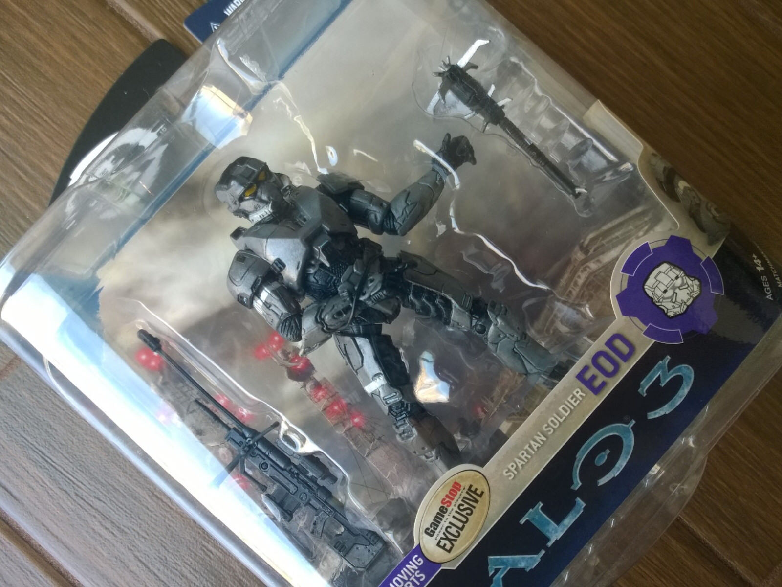 GameStop exclusive Halo 3 Series 3