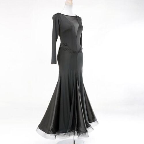 Latin Ballroom Competition Dance Dress Modern Waltz Tango Standard Dress Y017