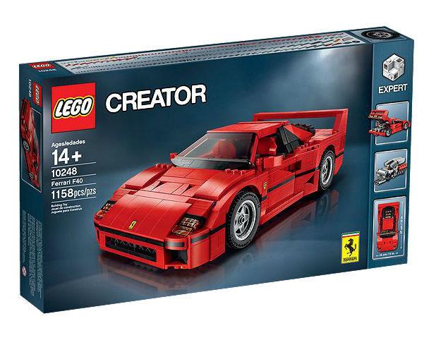LEGO Creator 10248 - Ferrari F40 - NEW Sealed - Retired - FREE Shipping - Car