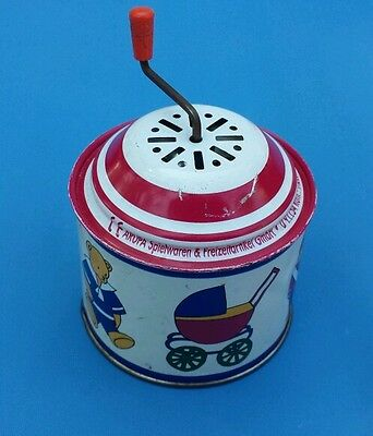 VINTAGE TIN TOY Children's Musical Box Made In Germany ARUPA Spielwaren ect GmbH