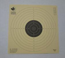 Competition grade Air Pistol 10 meters Targets ISSF German Paper