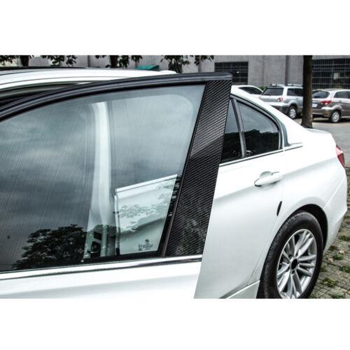 Carbon Fiber Window B Pillars Cover Decor Luxury Trim For BMW 5 Series GT F07