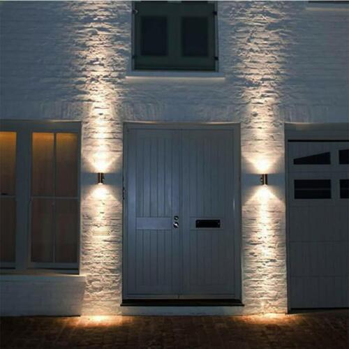 Double Up Down Wall Light aluminium double éclairage Secteur Noir farden Light