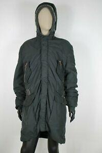REFRIGIWEAR-LANA-WOOL-Cappotto-Giubbotto-Jacket-Coat-Giacca-Tg-XL-Donna-Woman-C