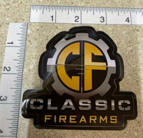 Classic Firearms Logo OEM Original Firearms Decal Sticker Shot Show 2020