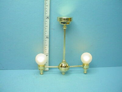 Dollhouse Miniature Battery Operated Miniature Light Hanging Lantern C22CSNB