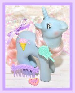 My-Little-Pony-MLP-G1-Vtg-Coco-Berry-Sundae-Best-Original-COMB-amp-BARRETTE