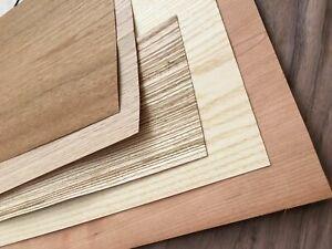 Flexible Wood Veneer/Flexi Large Veneer Sheets choice of 4 sizes | eBay