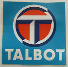 Autocollant AUTOMOBILE TALBOT Sticker Original Vintage Collector Automobilia