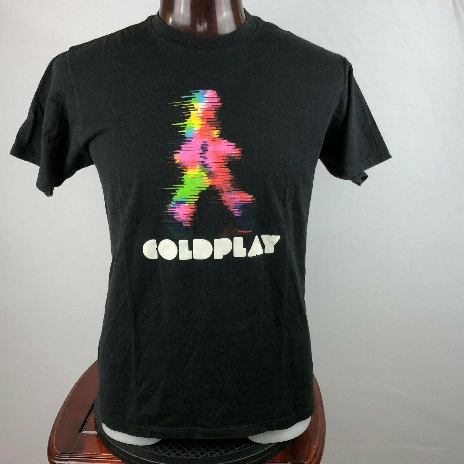 Coldplay Mens L Graphic T Shirt