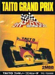 NES-Famicom-Spiel-Taito-Grand-Prix-Eikou-e-no-License-JAP-Modul