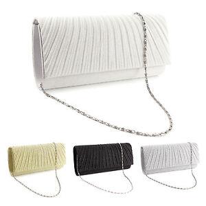Sparkle-Glitter-Pattern-Satin-Women-Clutch-Bag-Bridal-Handbag-Evening-Prom-Purse