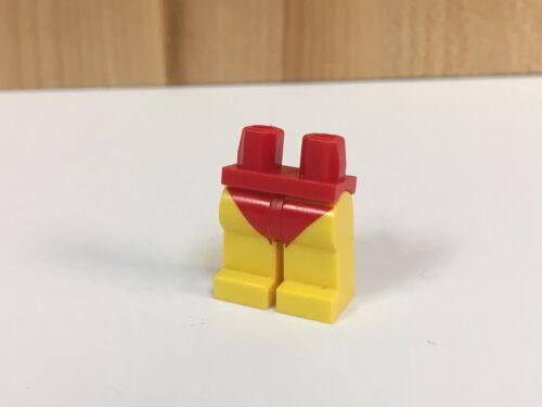 Lego Female Lifegaurd Bathing Swim Suit Legs Red Yellow Flesh Girl City Minifig