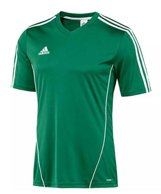 Peregrinación escolta aleatorio  adidas Estro 12 Soccer Jersey Green/white Adult Small Football Climalite  for sale online | eBay