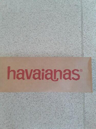 RRP £ 26 Maintenant £ 9.99 taille 9//10 Neuf Havaianas Tongs