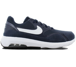 f43b05af89 Nike Air Max Nostalgic Men's Sneakers Shoes Navy Blue Classic 916781 ...