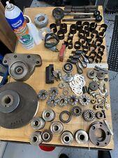 Bridgeport Milling Machine Parts X Axis End Cap Handle Bracket And More