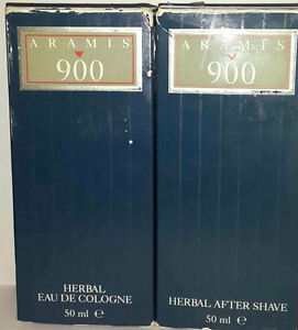 Aramis-900-Plantes-Eau-de-Cologne-50ml-Gift-After-Shave-50ml-Neuf-amp-Rare