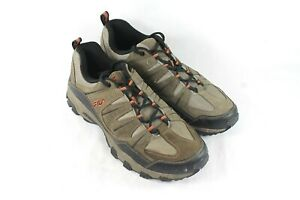 USED-Fila-Mens-Brown-Leather-Suede-Outdoor-Trail-Shoe-Walking-Hiking-Size-12