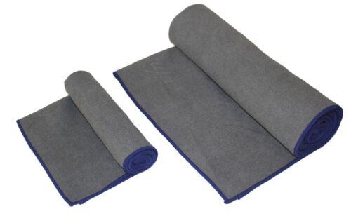 Yoga Mat Towels Combo Prmium Microfiber Towels Set Grey