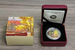 2013-20-Canada-Fine-Silver-Coin-Autumn-Bliss