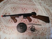 Thompson  US M1928 Submachine Airsoft Gun w/drum magazine