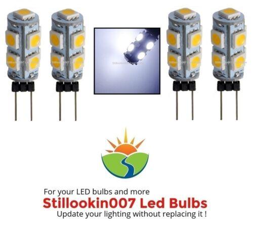 4 Low Voltage Landscape G4 LED bulbs COOL WHITE 9LED/'s per bulb