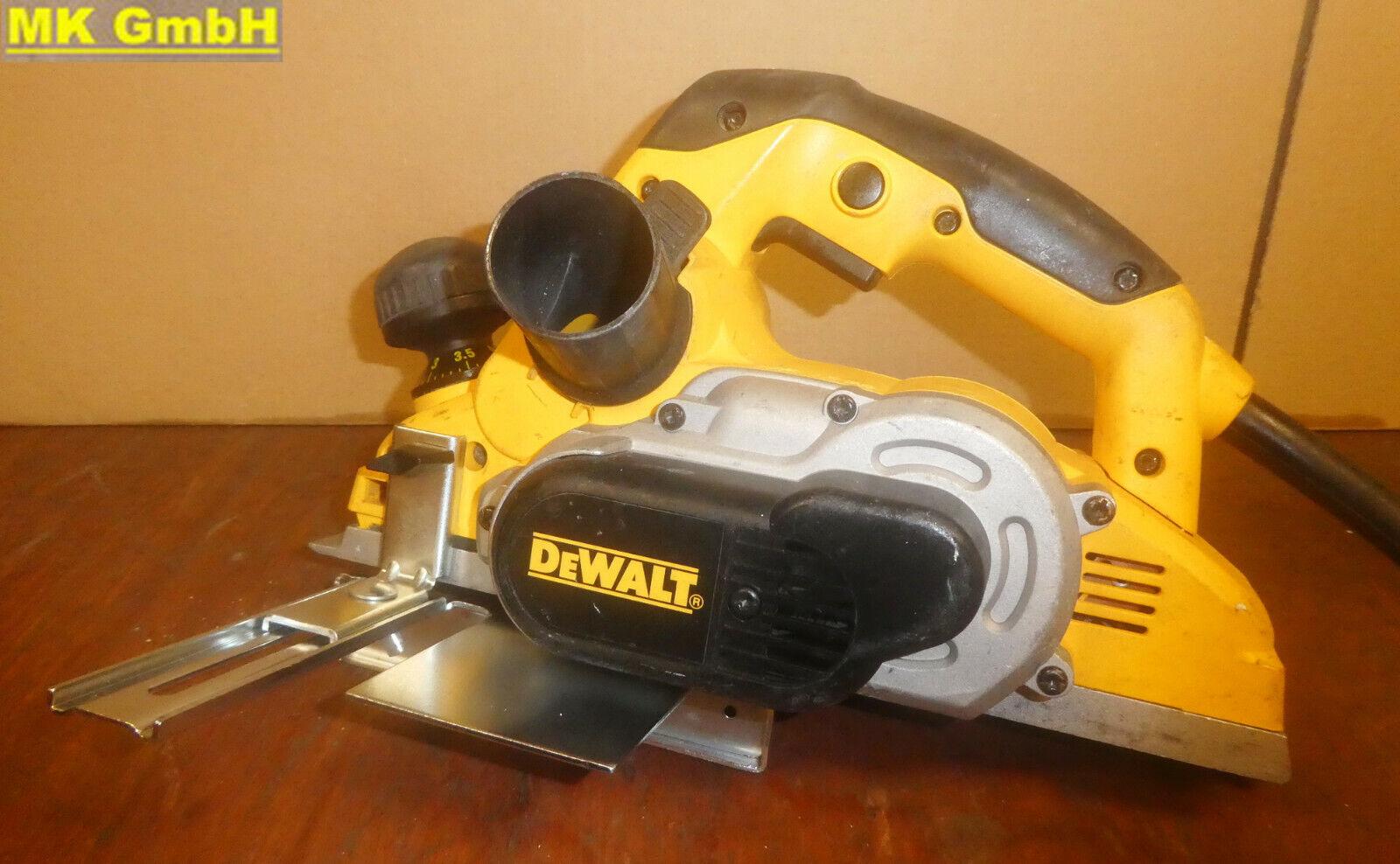 Dewalt D26501 Zimmerei Elektrohobel, 1150 Watt D 26501, 82mm + Parallelanschlag