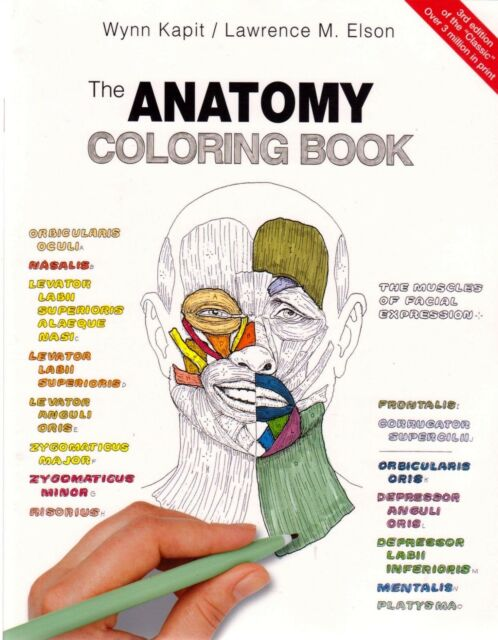 The Anatomy Coloring Book 3e By Lawrence M. Elson & Wynn Kapit (Paperback)
