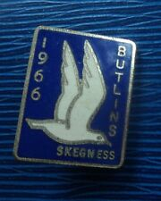 Butlin / Butlins Badge  -  Skegness 1966  -  maker J.R. Gaunt of London