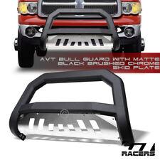 For 20022003 2009 Dodge Ram Matte Black Avt Edge Bull Bar Bumper Guard Skid Fits 2005 Dodge Ram 1500
