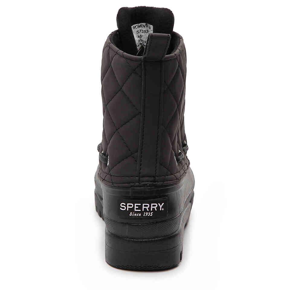 NIB PAUL SPERRY Gosling Gosling Gosling Warm Winter Snow Gosling Ankle Quilted Waterproof Boot 67603c