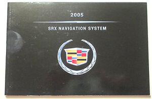 gm 2005 cadillac srx navigation manual 25769279a ebay rh ebay com 2005 Cadillac SRX Interior 2005 Cadillac SRX Engine Problems