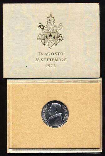 FDC VATICANO 1000 Lire 1978 AG GIOVANNI PAOLO I 1.505